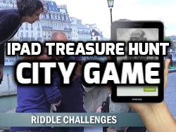 Ipad Treasure Hunt